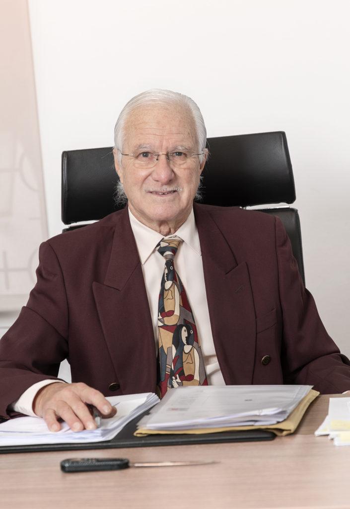Ángel Ignacio Forteza-Rey en su despacho del bufete FR&P Abogados.